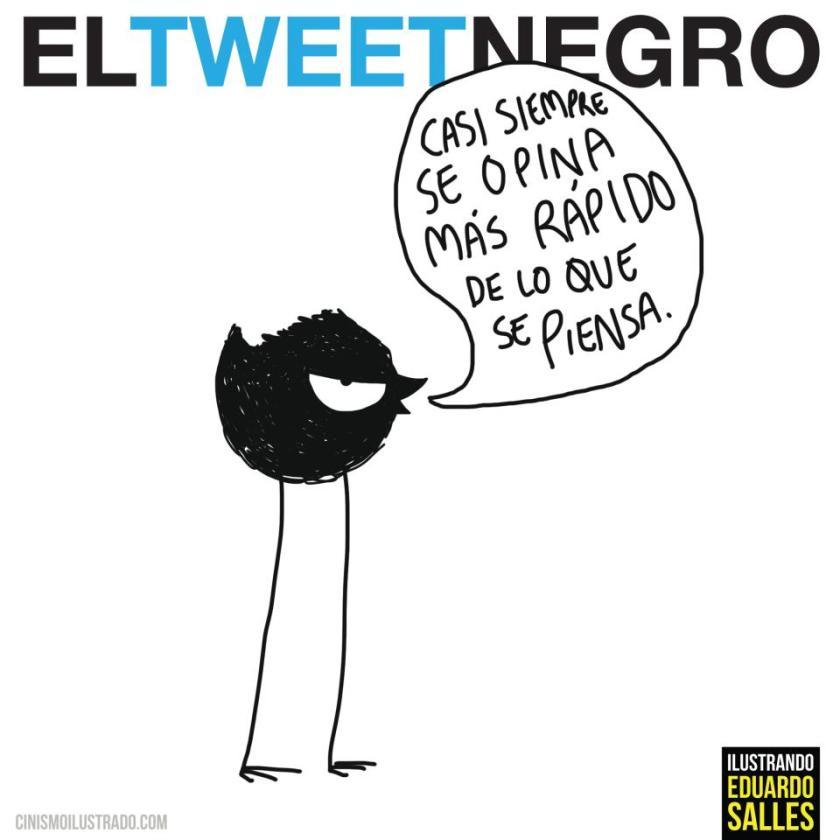 Tweet negro